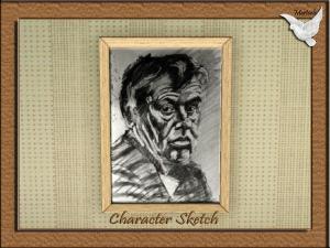 Character Sketch B&W 1