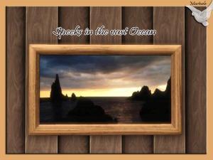 Specks in the vast Ocean