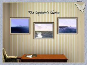 The Captain's Choice paintings
